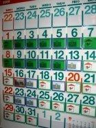 他の写真2: ビニールポケットカレンダー(2019年度版)