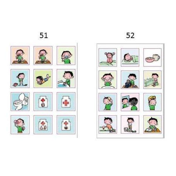 画像2: アドプラス 絵カードシール【マルチタイプ(絵柄12種12枚)】