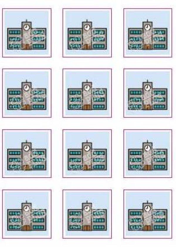 画像2: アドプラス 絵カードシール【シングルタイプ】